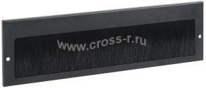 ITK Щеточный кабельный ввод 390х115 мм, черный ( BE05-390-115M )