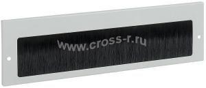 ITK Щеточный кабельный ввод 390х115 мм, серый ( BE35-390-115M )