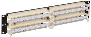 "ITK 19"" кросс-панель 200-парная, 2U, 110 т.(модули в комплекте) ( CP200-2U110 )"