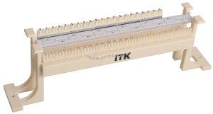Кросс-панель ITK на кронштейне 50-парная 110 т. ( CP50-110-1 )