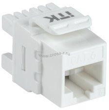 Модуль ITK Keystone Jack кат. 6 UTP 110 IDC 180 град. ( CS1-1C06U-12 )
