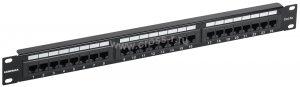 Патч-панель ITK 1U кат.5Е UTP, 24 порта (Krone) ( PP24-1UC5EU-K05 )