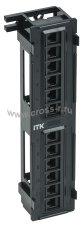 Настенная патч-панель ITK кат.6 UTP, 12 портов (IDC Dual) ( PP12-C6U-D05 )