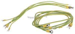 Комплект проводов заземления ITK 50 cм - 6шт; 80 cм - 3шт ( ER12-6568 )