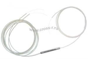 Ответвитель оптический 1х2 PLC одномод. (G657A1)  равномерный  1260-1650 nm, 1-1.5 m, 0.9 mm ( PLC-1x2-SM(G657A1)-1.5m-0.9 )
