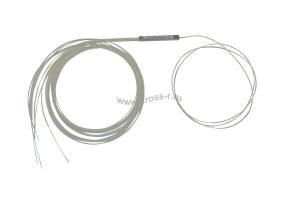 Ответвитель оптический 1х8 PLC одномод. (G657A1)  равномерный  1260-1650 nm, 1-1.5 m, 0.9 mm ( PLC-1x8-SM(G657A1)-1.5m-0.9 )