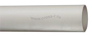Труба гладкая жесткая ПВХ d25 ИЭК серая (60м),3м ( CTR10-025-K41-060I )