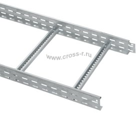 Лоток лестничный 80х200х3000, 1,2 мм ( LLK1-080-200 )